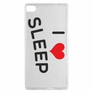 Etui na Huawei P8 I love sleep