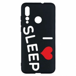 Etui na Huawei Nova 4 I love sleep