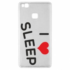 Etui na Huawei P9 Lite I love sleep
