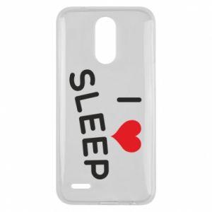 Etui na Lg K10 2017 I love sleep