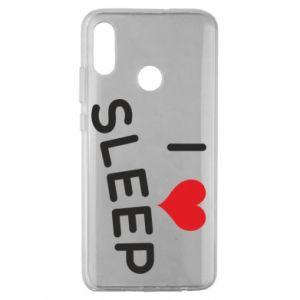 Etui na Huawei Honor 10 Lite I love sleep