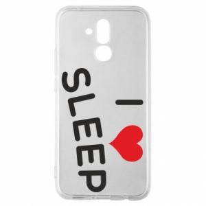 Etui na Huawei Mate 20 Lite I love sleep