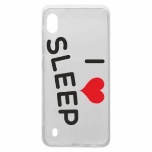 Etui na Samsung A10 I love sleep