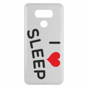Etui na LG G6 I love sleep