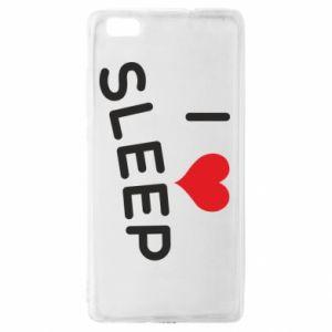 Etui na Huawei P 8 Lite I love sleep