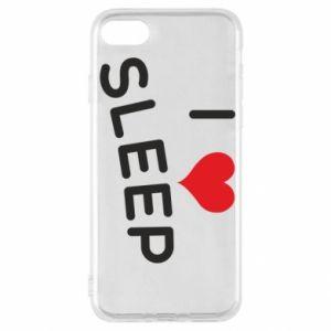Etui na iPhone SE 2020 I love sleep