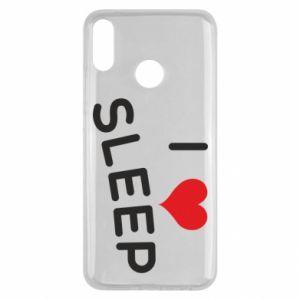 Etui na Huawei Y9 2019 I love sleep