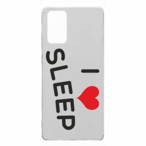 Etui na Samsung Note 20 I love sleep