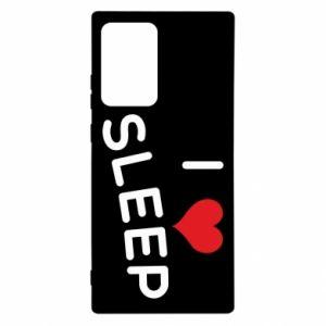 Etui na Samsung Note 20 Ultra I love sleep