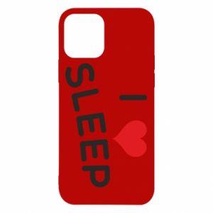 Etui na iPhone 12/12 Pro I love sleep