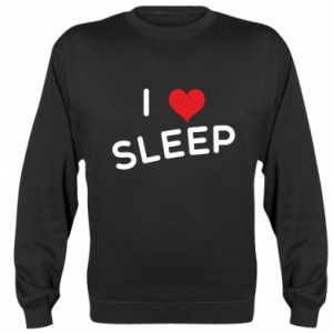 Bluza (raglan) I love sleep