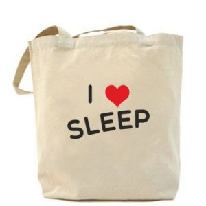 Torba I love sleep