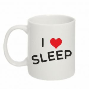 Kubek 330ml I love sleep