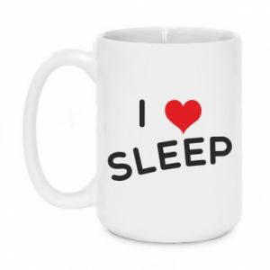 Kubek 450ml I love sleep