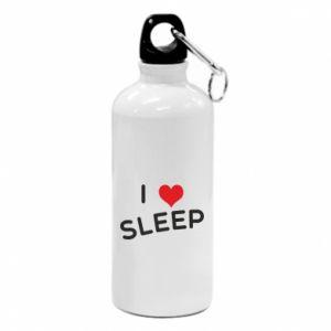 Bidon turystyczny I love sleep