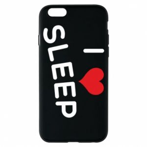 Etui na iPhone 6/6S I love sleep