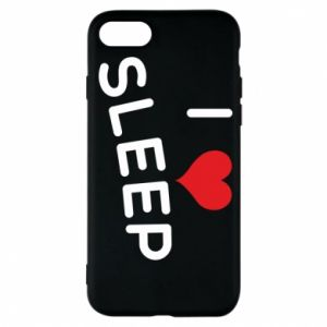 Etui na iPhone 7 I love sleep