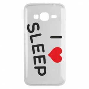 Etui na Samsung J3 2016 I love sleep