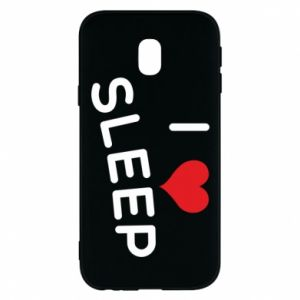 Etui na Samsung J3 2017 I love sleep