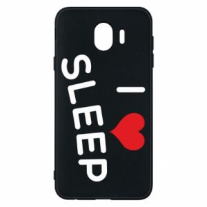 Etui na Samsung J4 I love sleep