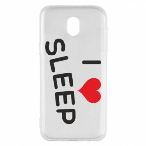 Etui na Samsung J5 2017 I love sleep