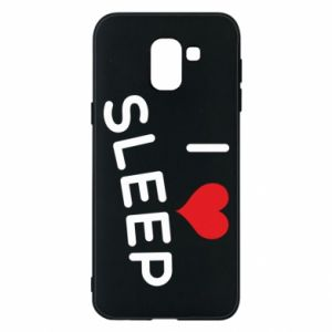 Etui na Samsung J6 I love sleep
