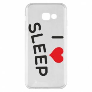 Etui na Samsung A5 2017 I love sleep