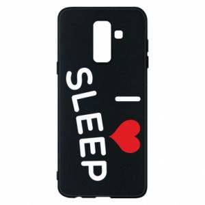 Etui na Samsung A6+ 2018 I love sleep