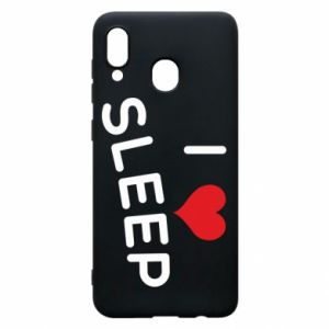 Etui na Samsung A20 I love sleep