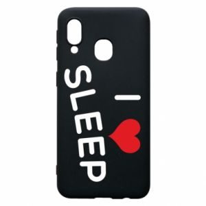 Etui na Samsung A40 I love sleep