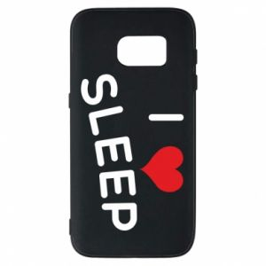 Etui na Samsung S7 I love sleep