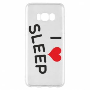 Etui na Samsung S8 I love sleep