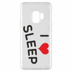 Etui na Samsung S9 I love sleep