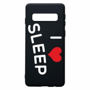Etui na Samsung S10 I love sleep