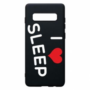 Etui na Samsung S10+ I love sleep