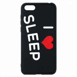 Etui na Huawei Y5 2018 I love sleep