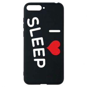 Etui na Huawei Y6 2018 I love sleep