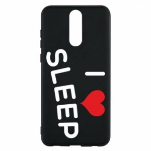 Etui na Huawei Mate 10 Lite I love sleep