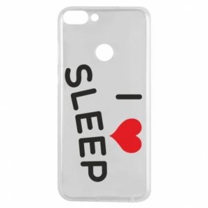 Etui na Huawei P Smart I love sleep