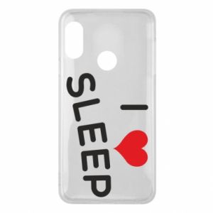Etui na Mi A2 Lite I love sleep