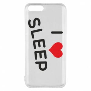 Etui na Xiaomi Mi6 I love sleep