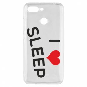 Etui na Xiaomi Redmi 6 I love sleep