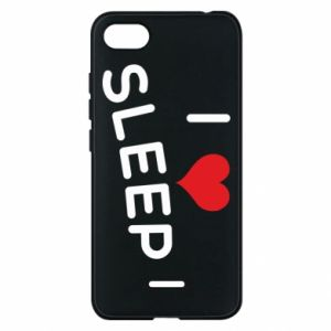 Etui na Xiaomi Redmi 6A I love sleep