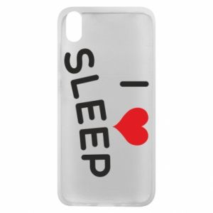 Etui na Xiaomi Redmi 7A I love sleep
