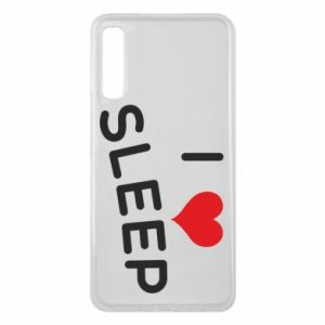 Etui na Samsung A7 2018 I love sleep