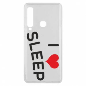 Etui na Samsung A9 2018 I love sleep