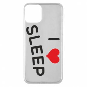 Etui na iPhone 11 I love sleep