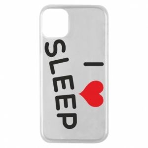 Etui na iPhone 11 Pro I love sleep