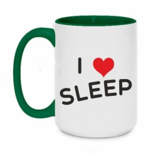 Kubek dwukolorowy 450ml I love sleep