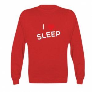 Bluza dziecięca I love sleep